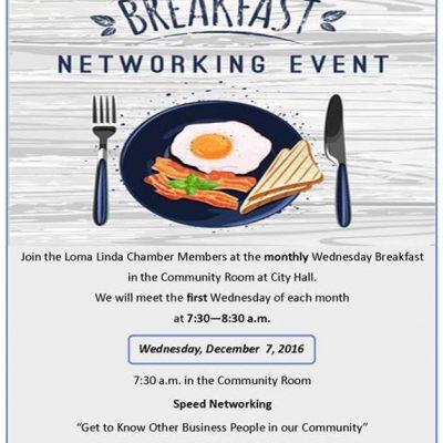 Breakfast Networking event for June