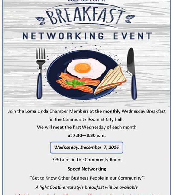 Breakfast Networking event for June
