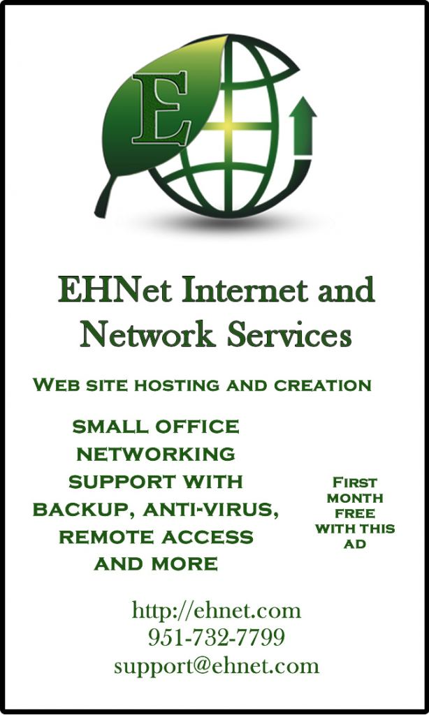 EHNet Network Support