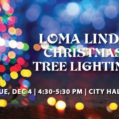 Annual Loma Linda City Tree Lighting