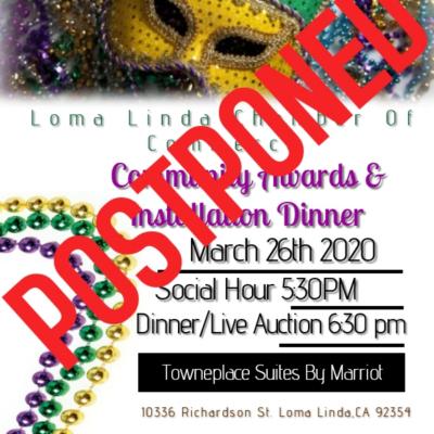 LLCC Community Awards and Installation Dinner Postponed